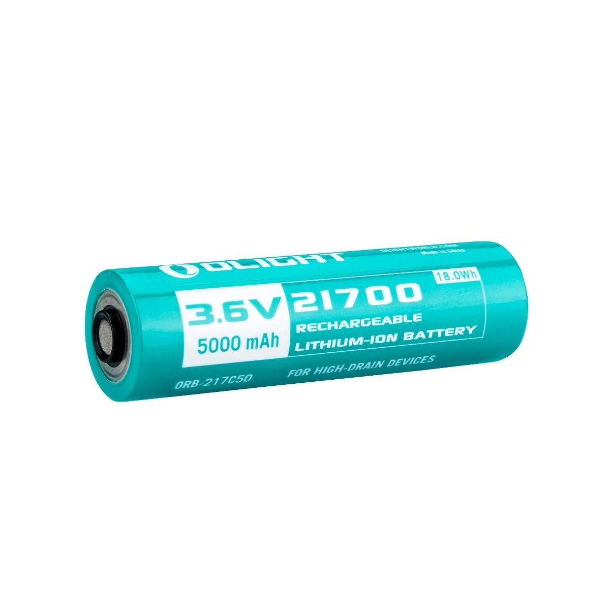 21700バッテリー 5000mAh OLIGHT専用電池