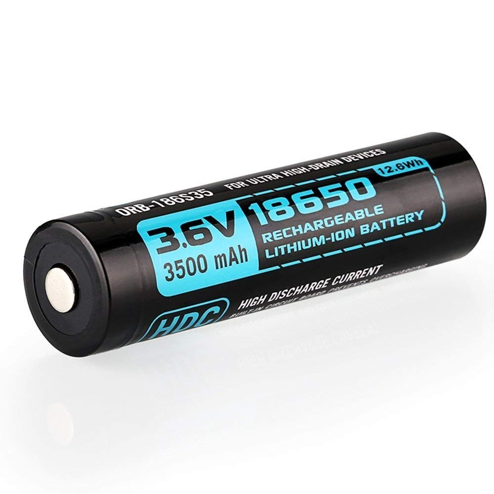 3500mAh 18650 X7 M2R M2T対応充電池